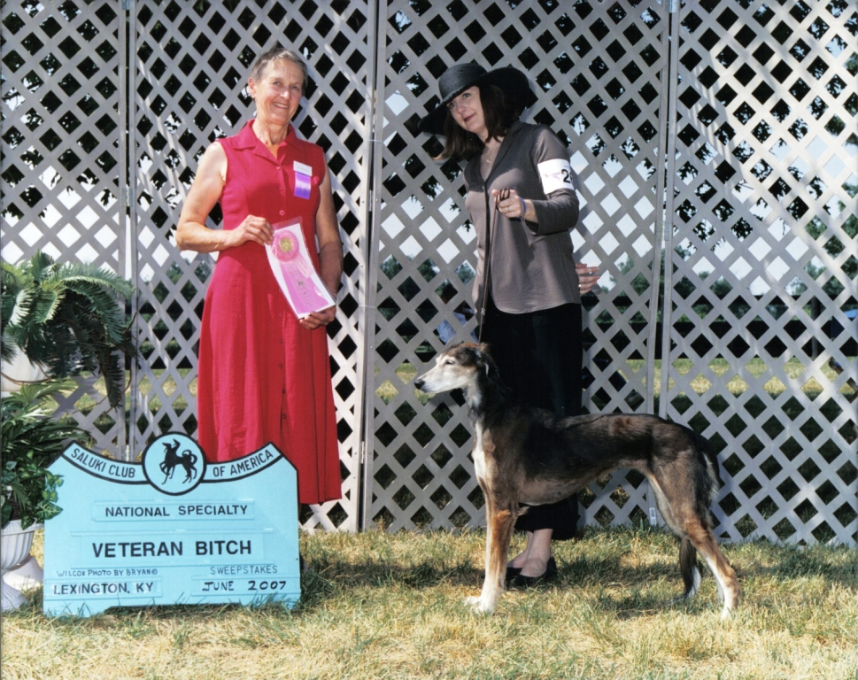 Zahrah: 1st place, Veteran Sweepstakes 11+